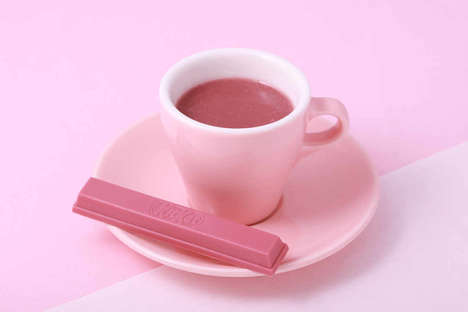 Naturally Pink Hot Chocolates