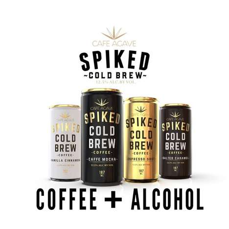 Alcohol-Infused Cold Brews