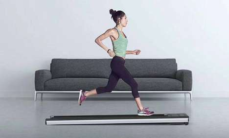 Sleek Low-Profile Treadmills