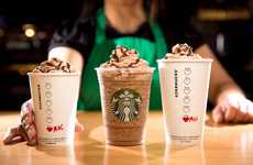 Chocolatey Valentine's Coffees - The Starbucks Molten Chocolate Line is Here for Valentine's Day