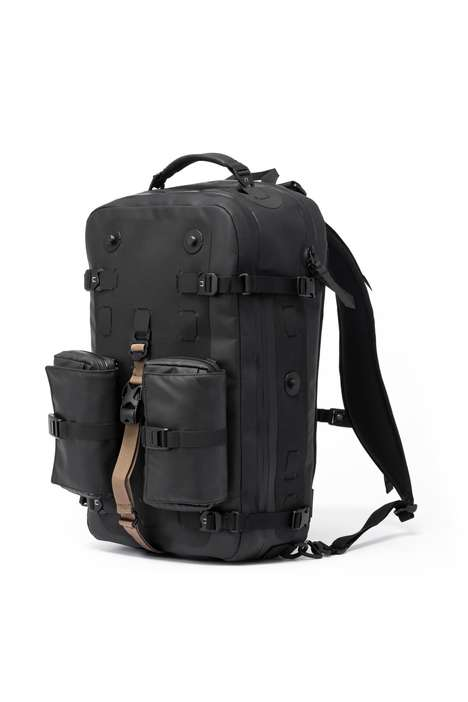 Men's Utilitarian Backpacks - Black Ember Created the Citadel Collection a Line of Modern Backpacks