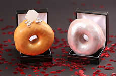 Romantic Donut Rings
