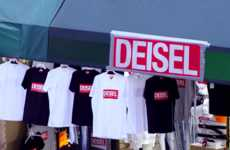 Branded Knockoff Shops - Diesel's Canal Street Store Makes a Statement on Counterfeit Fashion