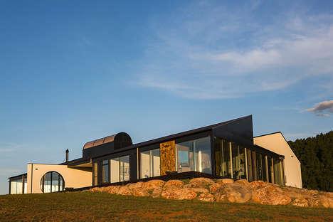 Rustic Geometric Homes