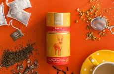 Colorful Organic Tea Blends - Saristi Tea Creations are Inspired by Earth, Wind, Water and Air