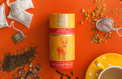 Colorful Organic Tea Blends