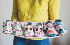Party-Themed Kid's Shoes - Freshly Picked Teamed Up with Baby Boy Bakery on These Fun New Designs