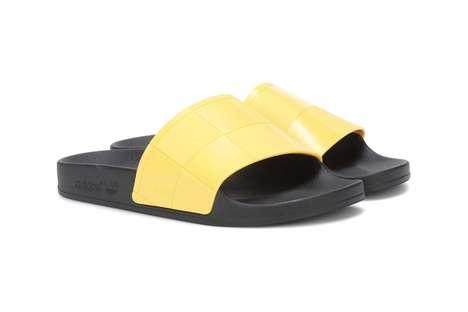 Vibrant Collaborative Slide Shoes