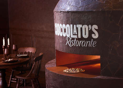 All-Chocolate Pizzeria Pop-Ups