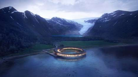 Sustainable Ring-Shaped Arctic Hotels