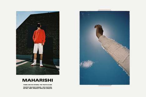 Upcycled Militaristic Collections - The maharishi Spring/Summer 2018 Line is Ethical & Militaristic