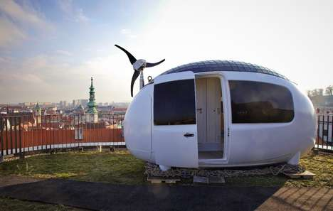 The Ecocapsule Features Off-Grid Technology for Eco-Friendly Dwelling