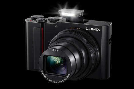 Deep-Zoom Digital Cameras - The Panasonic ZS200 Comes Stock with a 24-360x Lens