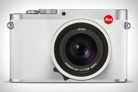 Olympian-Approved Cameras - The Leica Q Snow Edition Camera Boasts a 24MP Sensor