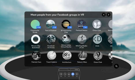 VR Social Spaces - Facebook Spaces VR Will Now Allow Users to Interact with Other Group Members