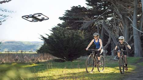 Autonomous Filming Drones