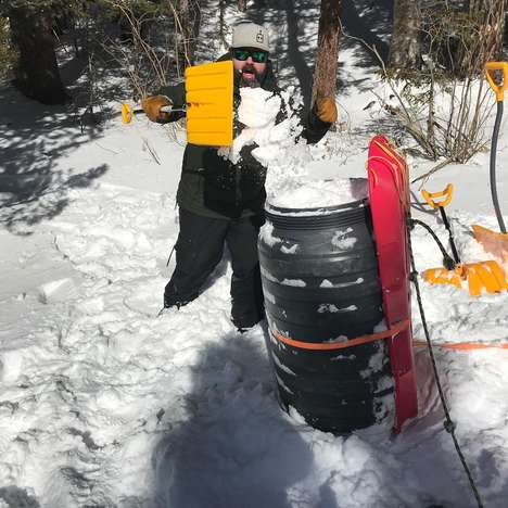 Snow-Based Beers