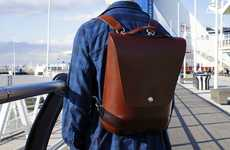 Durable Handcrafted Leather Backpacks - The Leatherback Combines Style, Quality and Function