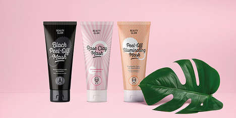 Color-Coded Face Mask Packaging - The Müller Beauty Glam Branding Targets Young Consumers
