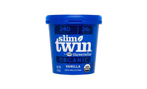 Low-Fat Protein-Rich Ice Creams