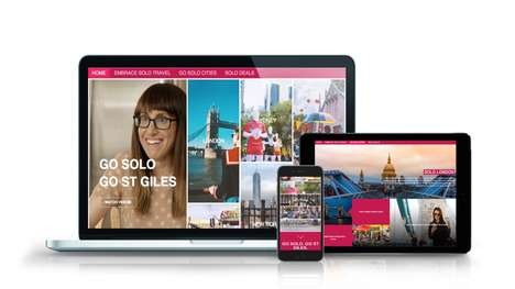Solo Travel Campaigns - St Giles Hotels' 'GO SOLO, GO ST GILES' Champions Solo Travel