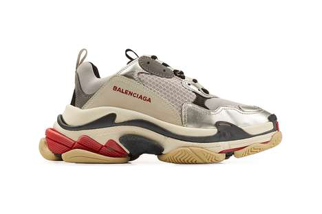 Updated Chunky Sneakers - Balenciaga's Triple-S is Arriving in Six New Colorways