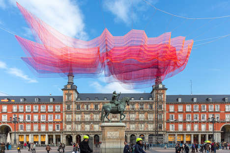 Suspended Fabric Installations