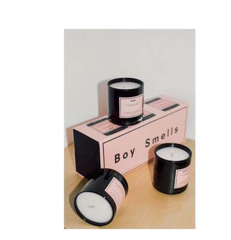 Boy Musk Candle Scents
