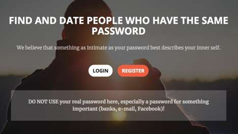 Password-Matched Dating Sites