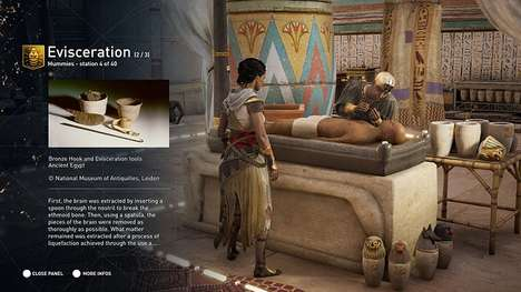 Educational Video Game Updates - Assassins Creed Discovery Mode Teaches Players Egyptian History