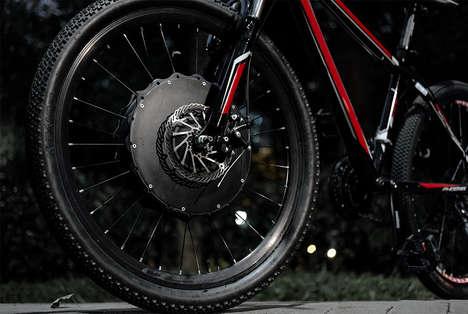 Transformative E-Bike Wheels