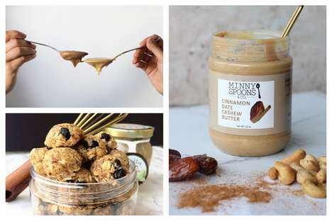 Healthy Cashew Butter Brands - Minny Spoons Offers Nutrient-Dense Butters and Energy Bites