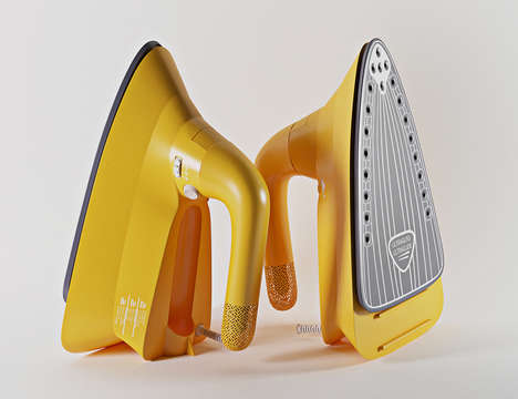 Flatpack Clothing Irons - This Iron Concept Boasts a Streamlined Design to Increase Efficiency
