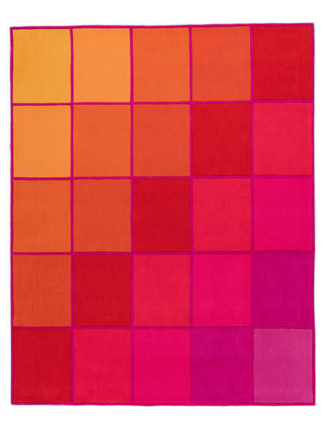 Vibrantly Patterned Rug Designs