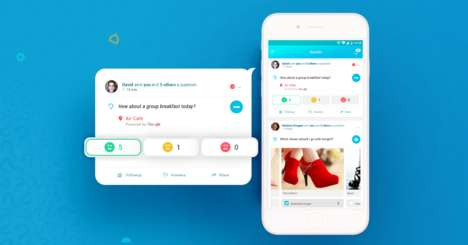 Question-Based Social Apps - 'Queskr' Allows Users to Quickly Ask Questions and Get Answers