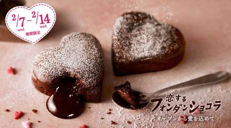 Romantic Pizzeria Desserts