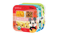 Branded Organic Snack Packages - These Crunch Pak Disney Snacks are Perfect for School Lunches