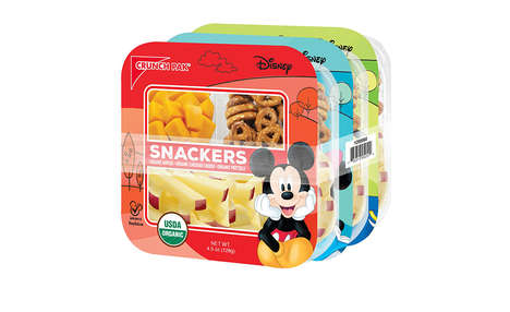 Branded Organic Snack Packages