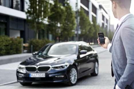 High-Tech Luxury Sedans
