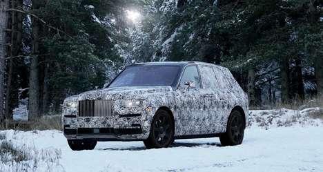 Anticipated Luxury SUVs