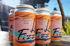 Sparkling Water-Inspired Beers - Temescal Brewing's La Fizz Takes Flavor & Design Cues from LaCriox