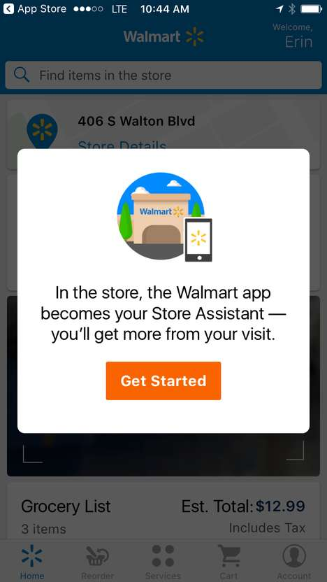 Assistive In-Store Apps