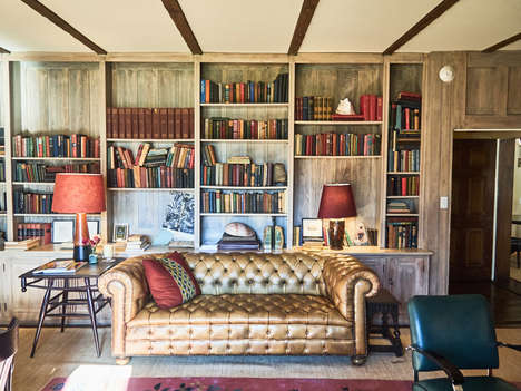 Literary-Inspired Hotels - Hotel Troutbeck is a Captivating Space That Celebrates It Rich History