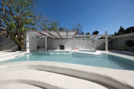 Gleaming White Villas