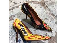 Motorsport-Inspired Stilettos