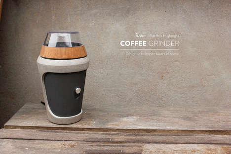 Naturalistic Outdoor Coffee Grinders