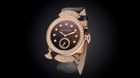 Ultra-Thin Luxury Watches - The Bulgari Diva Finissima Features an Impressive Design in a Thin Size