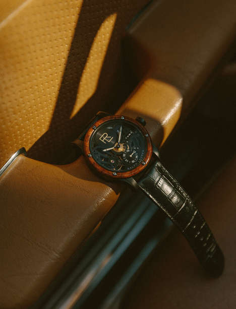 Luxury Car-Influenced Watches - Ralph Lauren's Automotive Collection Delivers Intricate Timepieces