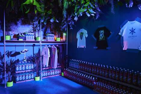 Immersive Sneaker Hotel Activations