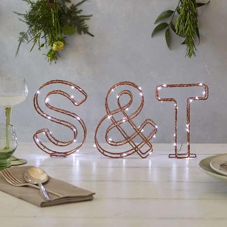 Custom Letter Designs